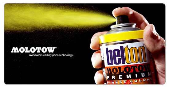 Molotow Spray Paint